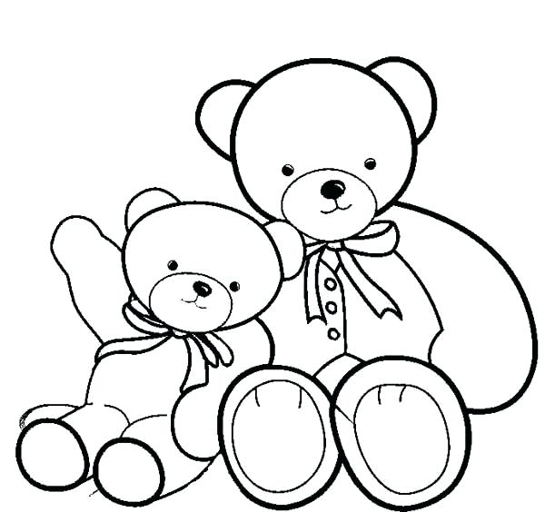 600x564 drawing of teddy bear drawing teddy bear drawing teddy bear easy