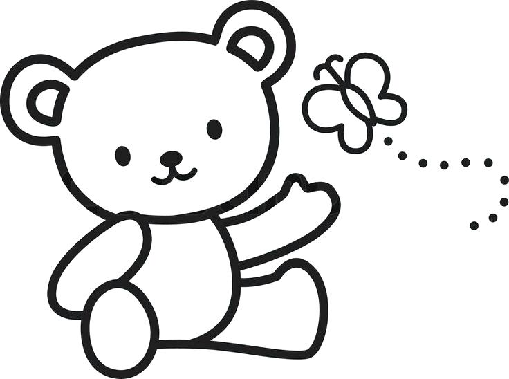 736x548 Easy To Draw Bear Collection Of Cute Teddy Bear Drawing Easy High