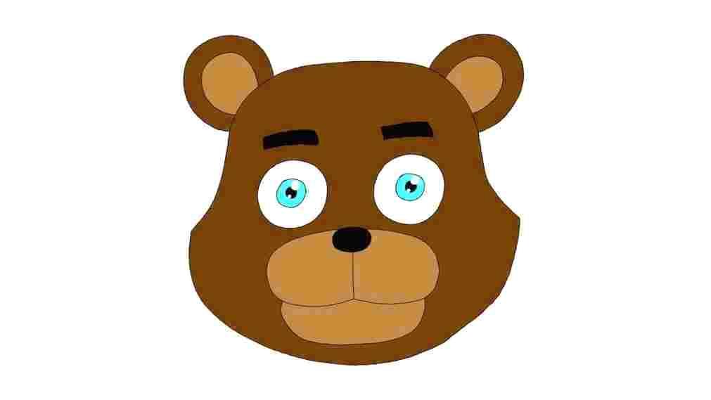 1011x569 How To Draw A Cartoon Bear Face Bear Face Drawing Cute Bear