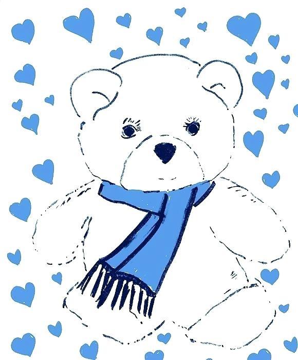 580x700 How To Draw A Cute Teddy Bear Easy How To Draw A Teddy Bear