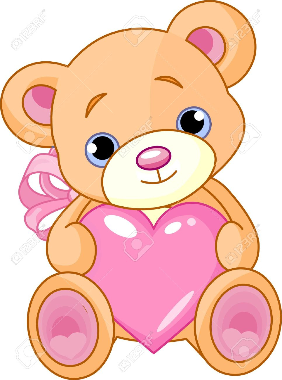 966x1300 Teddy Bear Drawing Clipart