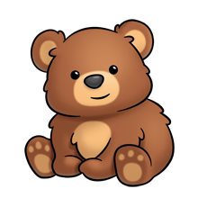 220x220 brown bear rylynn teddy bear drawing, bear clipart, bear drawing