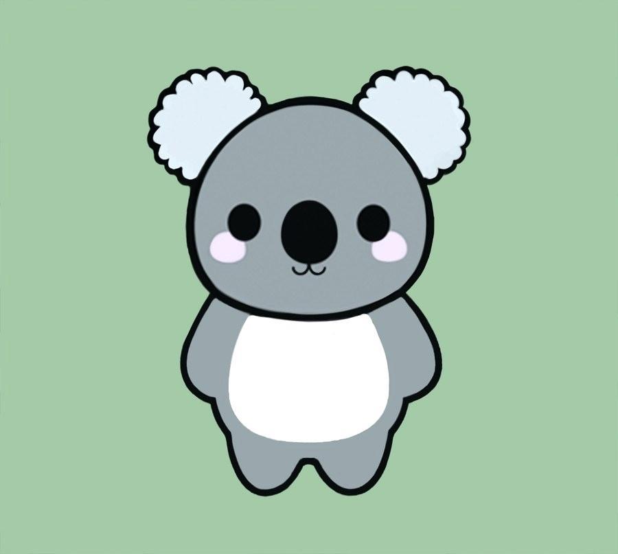 900x807 Cute Bears To Draw