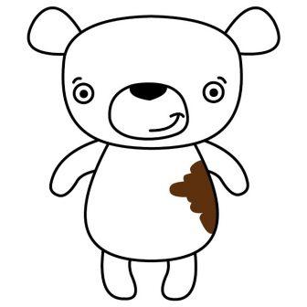 336x336 Brown Bear Drawing Easy Koala We Bare Cute Cartoon Pooh Iydunetwork