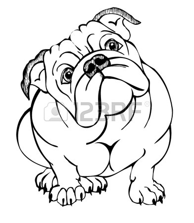 392x450 Huge Collection Of 'cute Bulldog Clipart' Download More Than