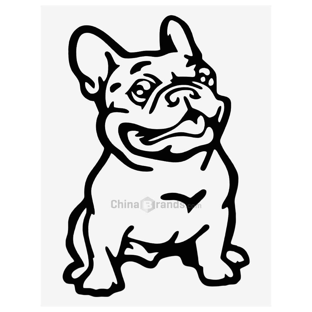 1000x1000 Wholesale Cute Bulldog Pattern Waterproof Car Decalwe Boost Your