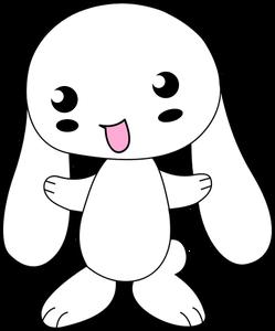 Cute Bunny Rabbit Drawing