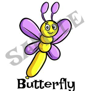 300x300 butterfly menu item twister sister balloon supplies