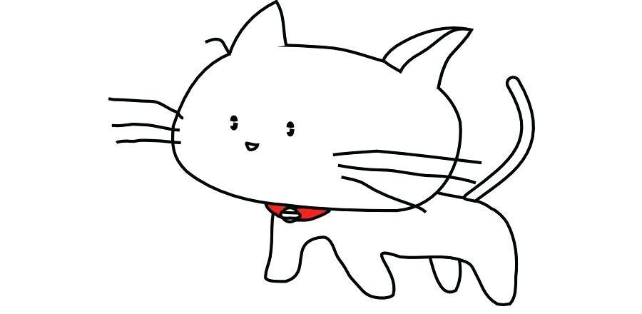 900x440 cat cartoon drawing how to draw a cartoon dog step cat cartoon