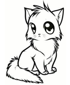 236x288 Cute Kitten Drawing Easy Troller Us