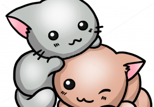 300x210 Easy Cute Cat Drawing Ways To Draw Cute Cats