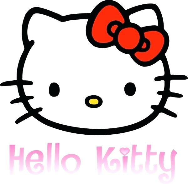 600x589 Hello Kitty Drawings Hello Kitty Free Vector Cute Cats Drawings