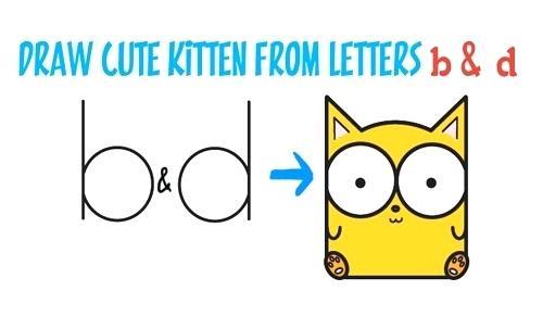 500x291 Cute Kittens To Draw Cute Kittens To Draw Step