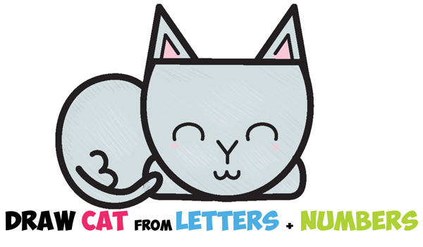 600x350 How To Draw A Cartoon Cat Archives