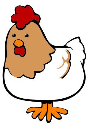 300x425 Cute Chicken Clipart Free Clipart Images Free Printables