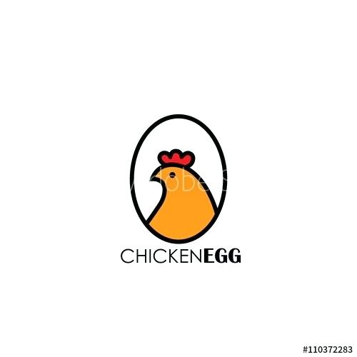 500x500 Simple Chicken Drawing