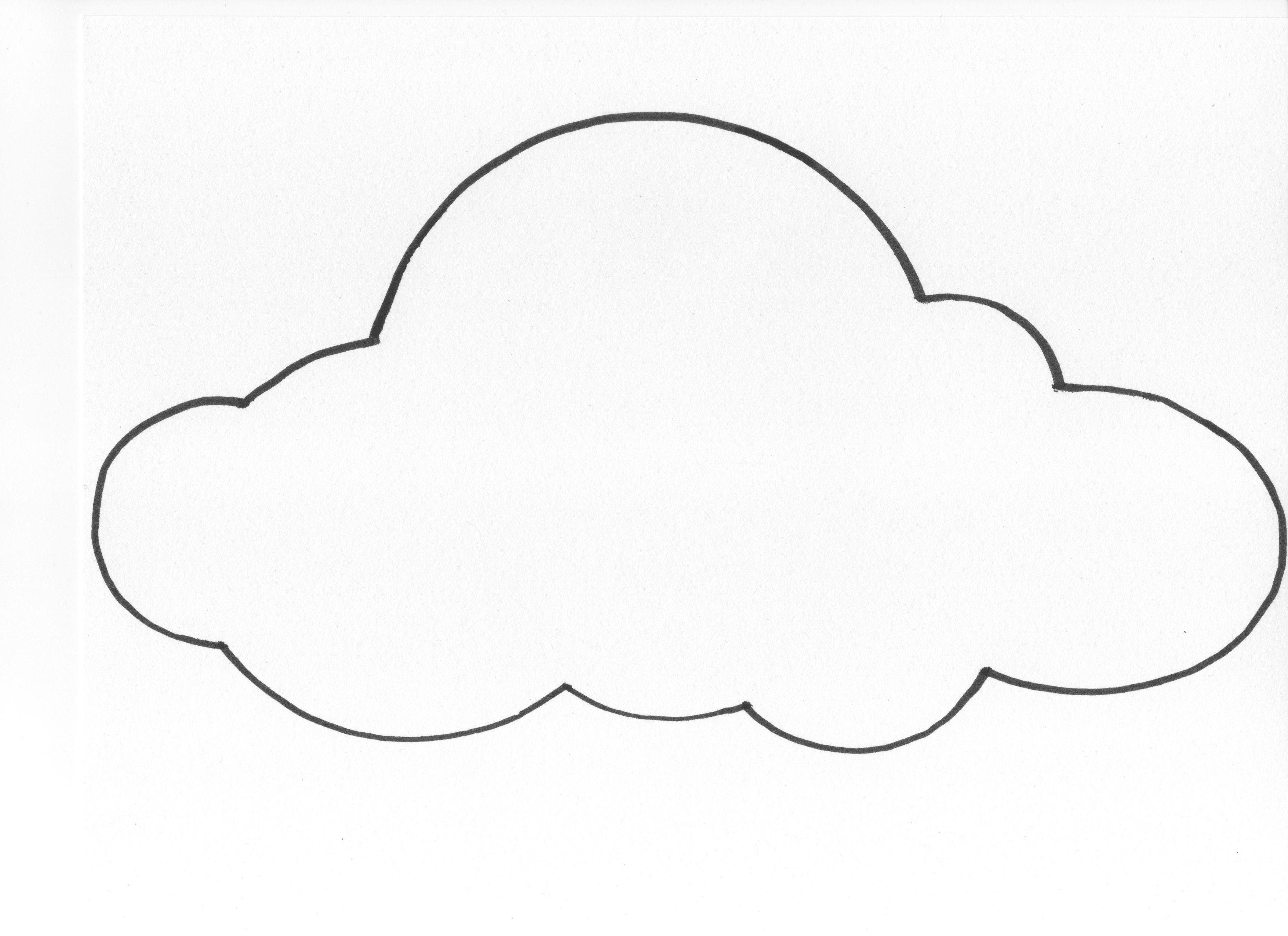 Cute Cloud Drawings