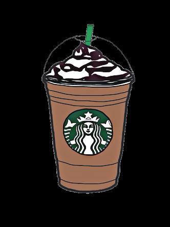 Cute Coffee Drawing