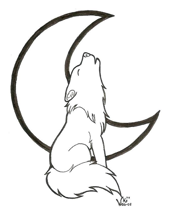 693x864 Cute Wolf Drawing Anime Cute Wolf Drawings Pencil