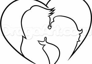 300x210 Easy Pencil Drawings Of Lover Cute Lovers Easy Pencil Couples