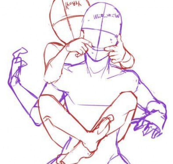 Cute Couple Poses Drawing Free Download Best Cute Couple