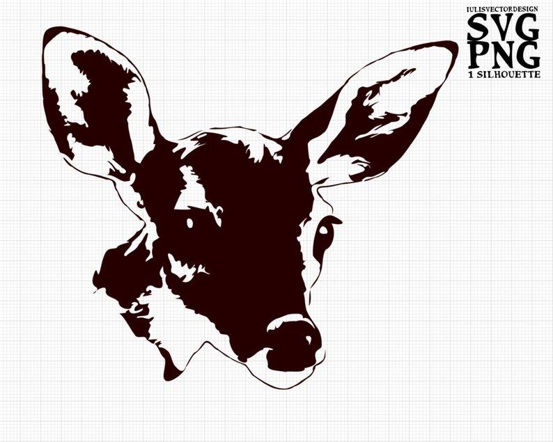 794x635 baby deer cute deer baby deer silhouette baby deer etsy