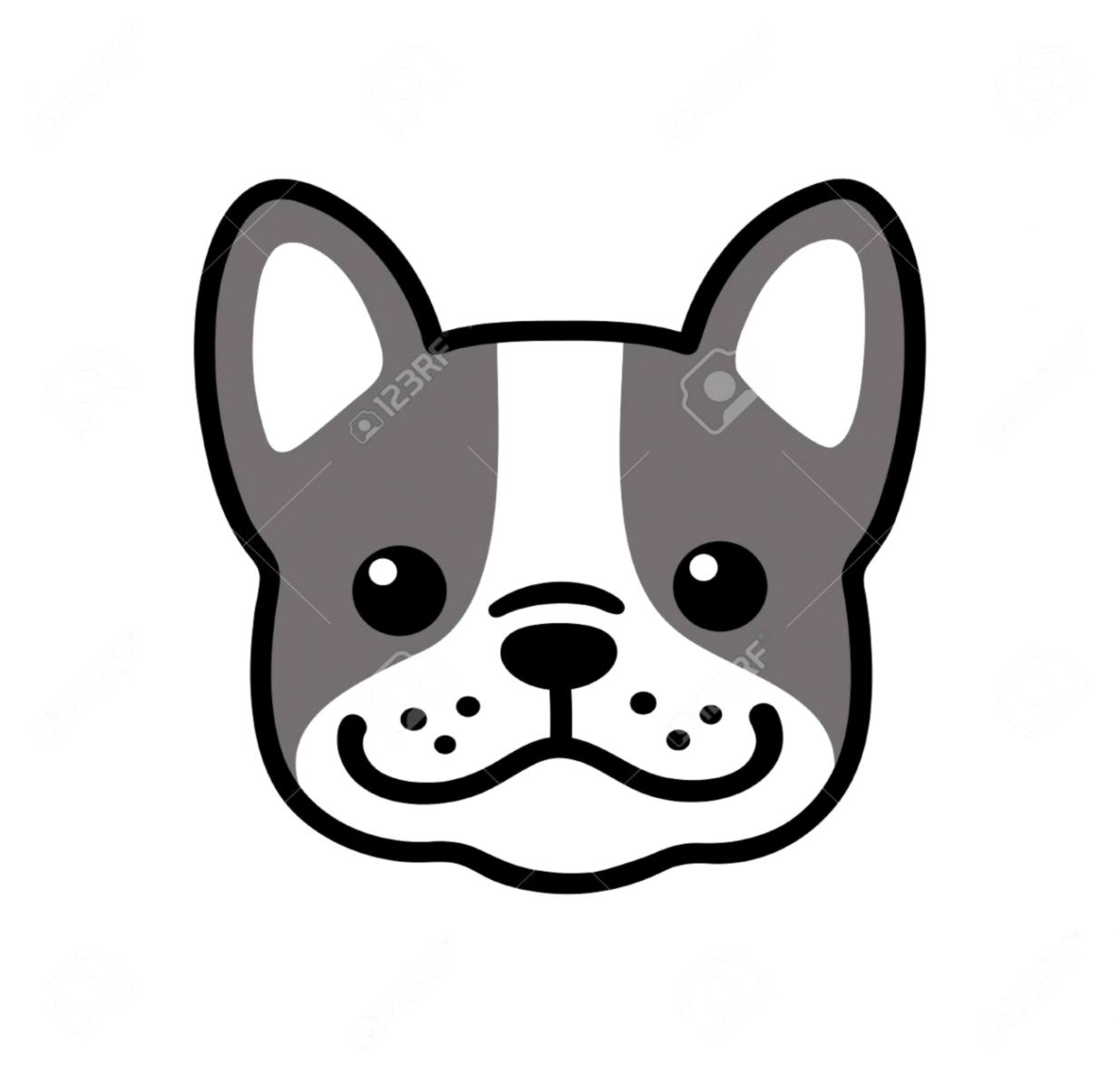 1235x1183 cute dog face drawing wallpapers engine
