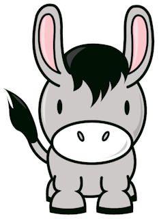 233x320 pin the tail on the donkey birthday cute donkey, donkey