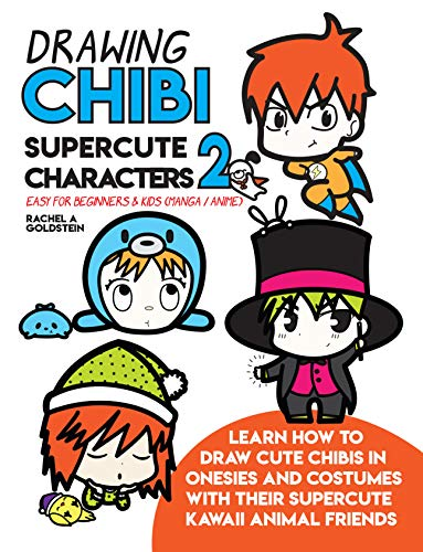 383x500 Drawing Chibi Supercute Characters Easy For Beginners Kids