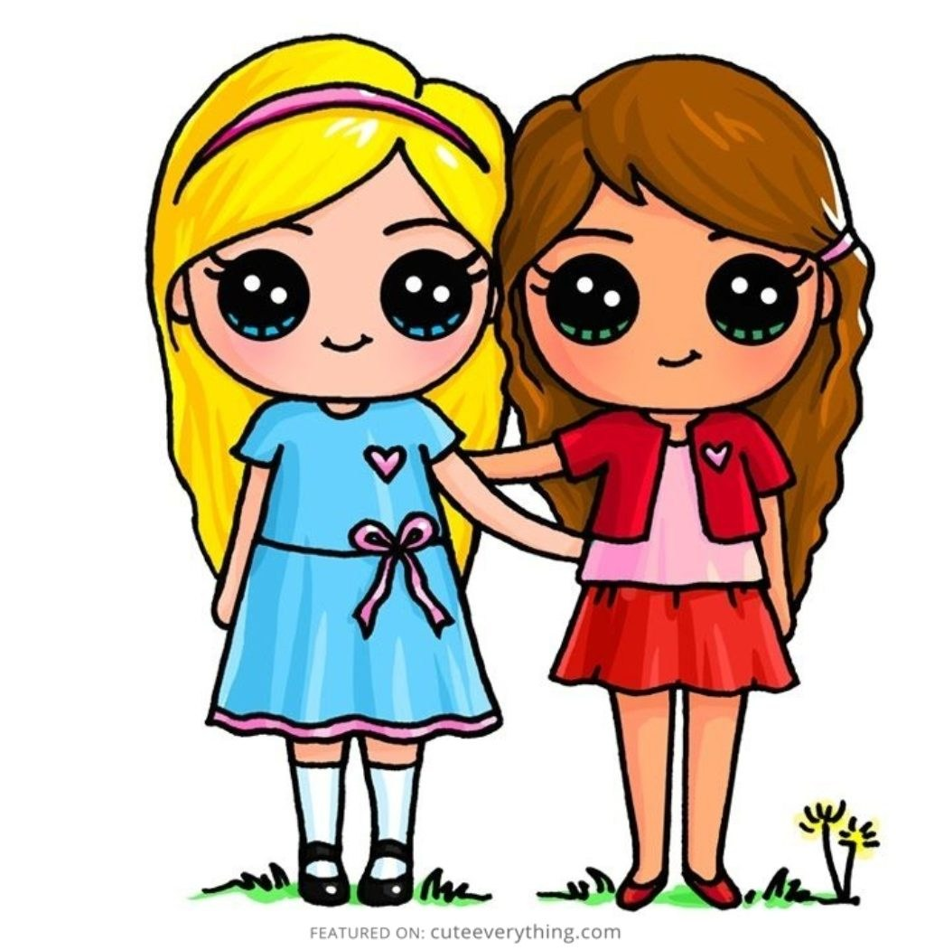 1024x1051 Cute Pictures To Draw For Your Best Friend