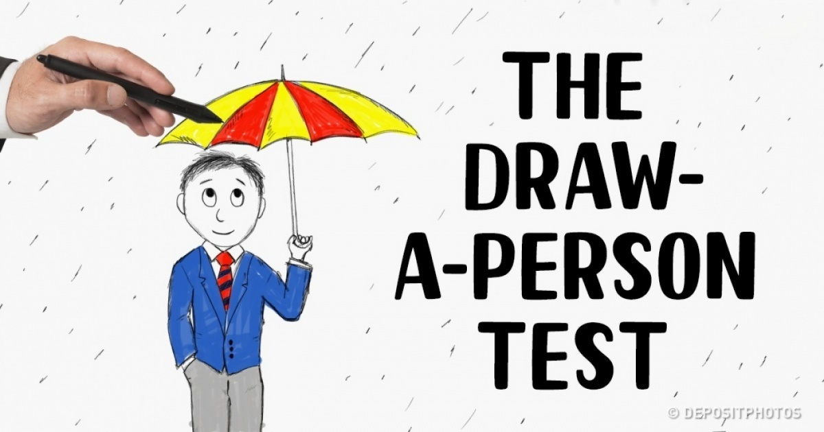 1200x630 This Draw A Person In The Rain Test Will Reveal Your True Self