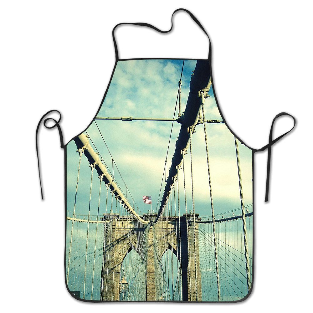 1000x1000 Cute Apron Bridge Bbq Grilling Apron For Boyfriends