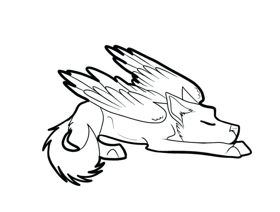 900x680 Cute Wolf Drawing Easy Drawings Cute Wolf Drawings Easy Animal