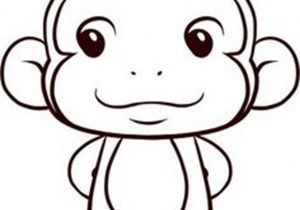 300x210 Cute Monkey Sketches Cute Monkey Drawing Cute Drawings Of Monkeys