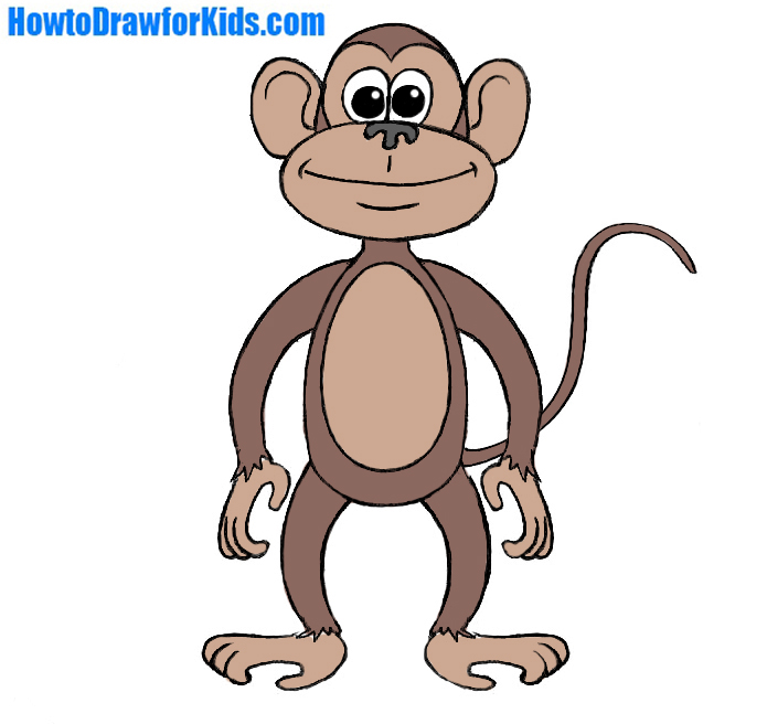 695x656 Monkey Pictures To Draw How Monkeys Image Result For So Cute