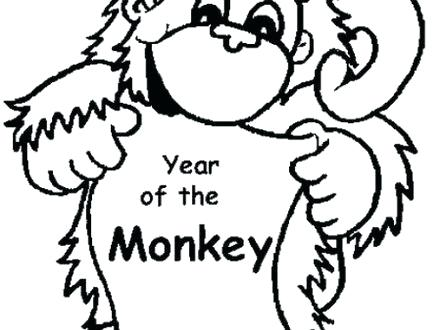 440x330 Cute Baby Monkey Drawings