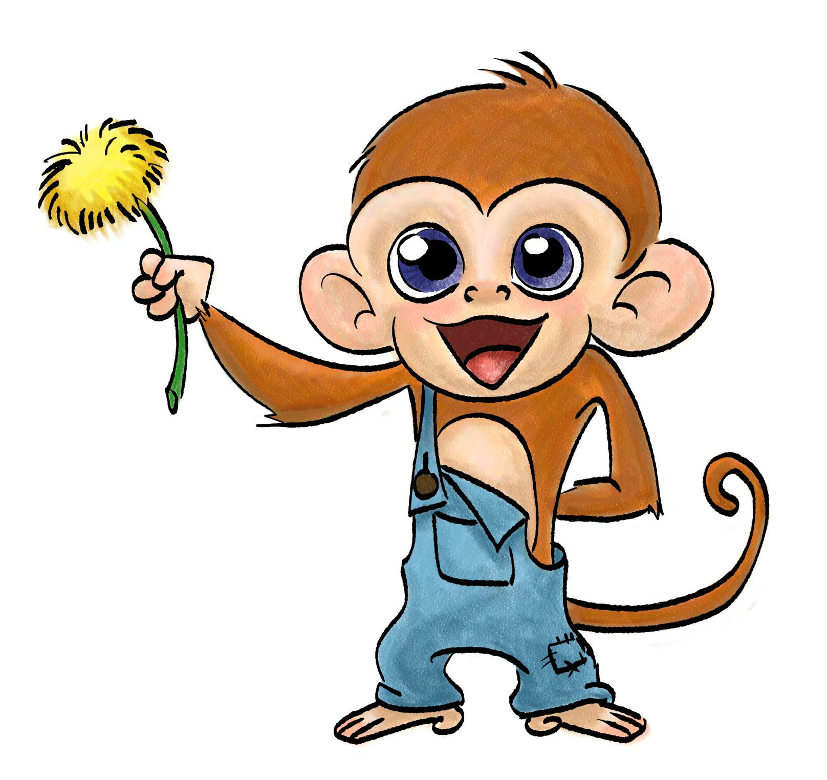 1616x1524 Cute Monkey Drawing Cute Drawing Of A Monkey At Getdrawings Free