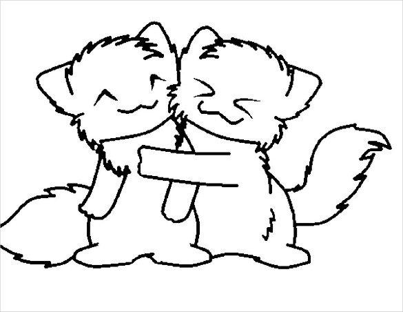 585x452 Cute Drawings Free Pdf, Format Download Free Premium