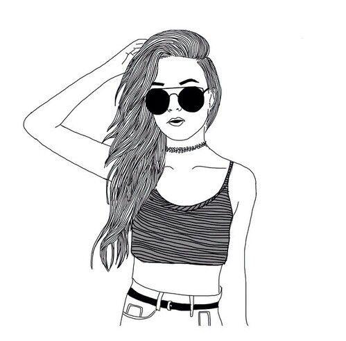 499x491 Cute Girl Drawing