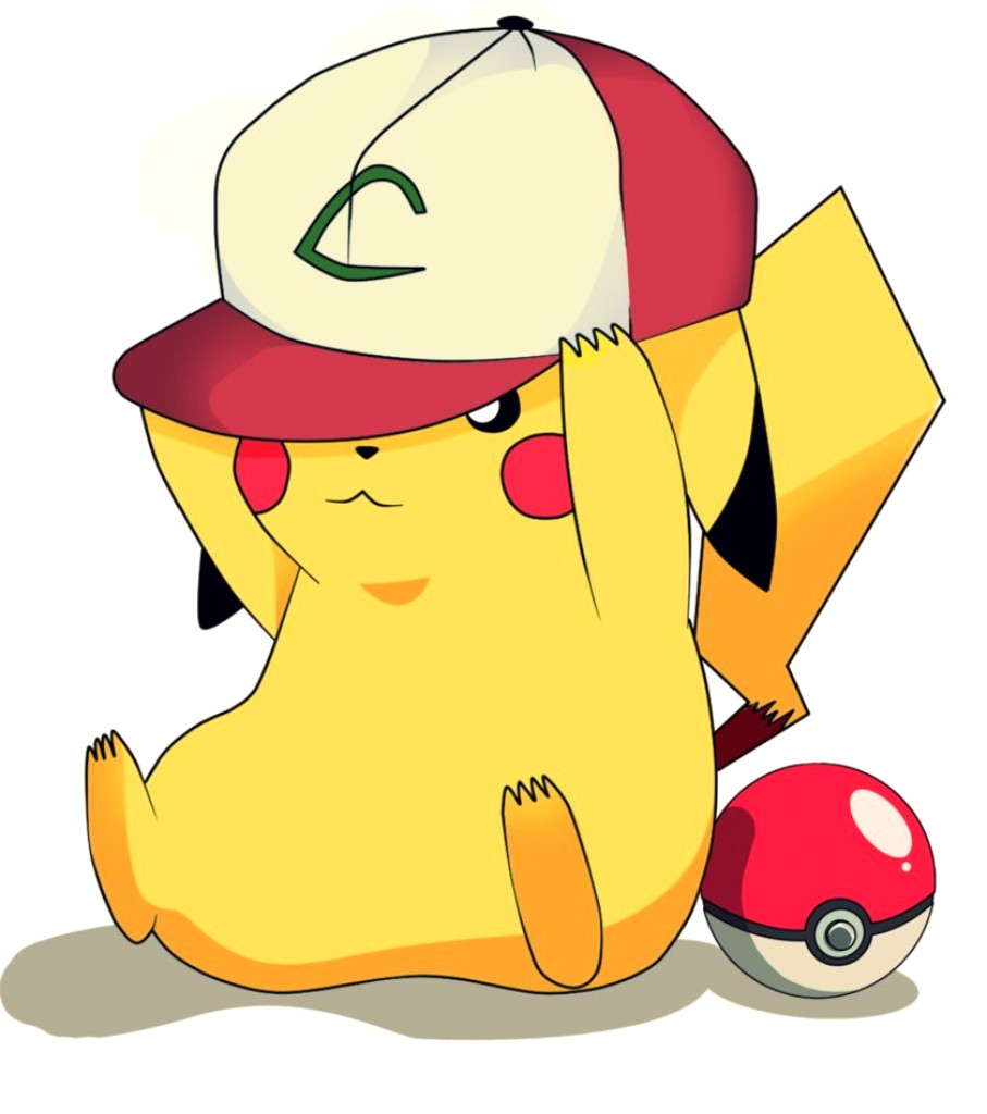 907x1024 Cute Pikachu Drawing Baby Clipart Clipartfest Drawings