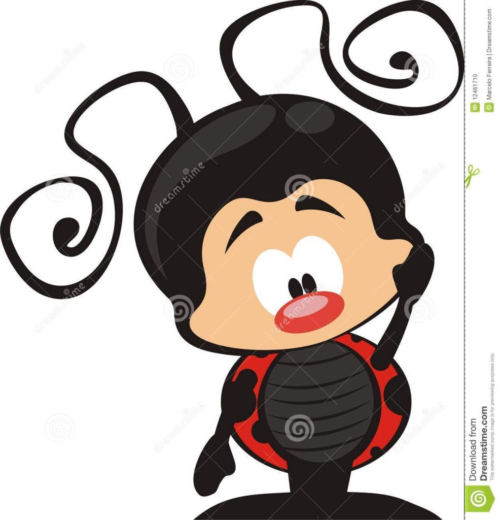 986x1024 Ladybug Clipart Cute Drawing