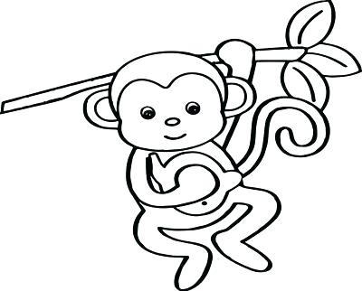 400x322 Cute Monkey Drawings Artist Monkey Cute Monkey Drawing Images