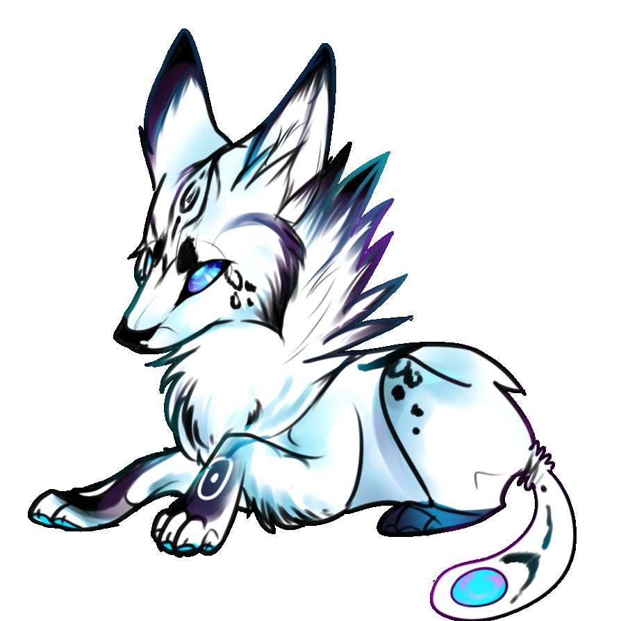 894x894 Easy Wolf Drawing Cute Drawings