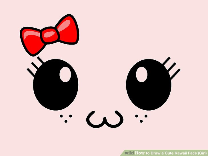 728x546 How To Draw A Cute Kawaii Face
