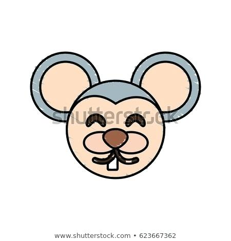 450x470 Cute Mouse Drawing