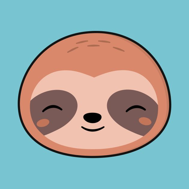 630x630 Cute Drawing Sloth Drawing Group