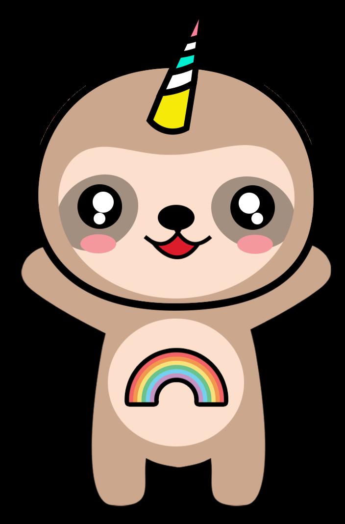 704x1069 Cute Drawing Sloth Drawing Group