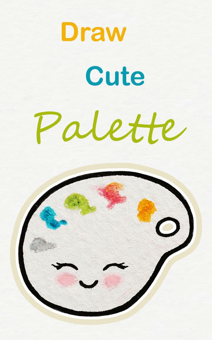 720x1154 Cute Drawing With Color Learn How To Draw So Cute Colors Palette