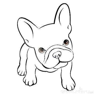 400x400 Cute Drawings Of Puppies Bulldog Pup Drawing