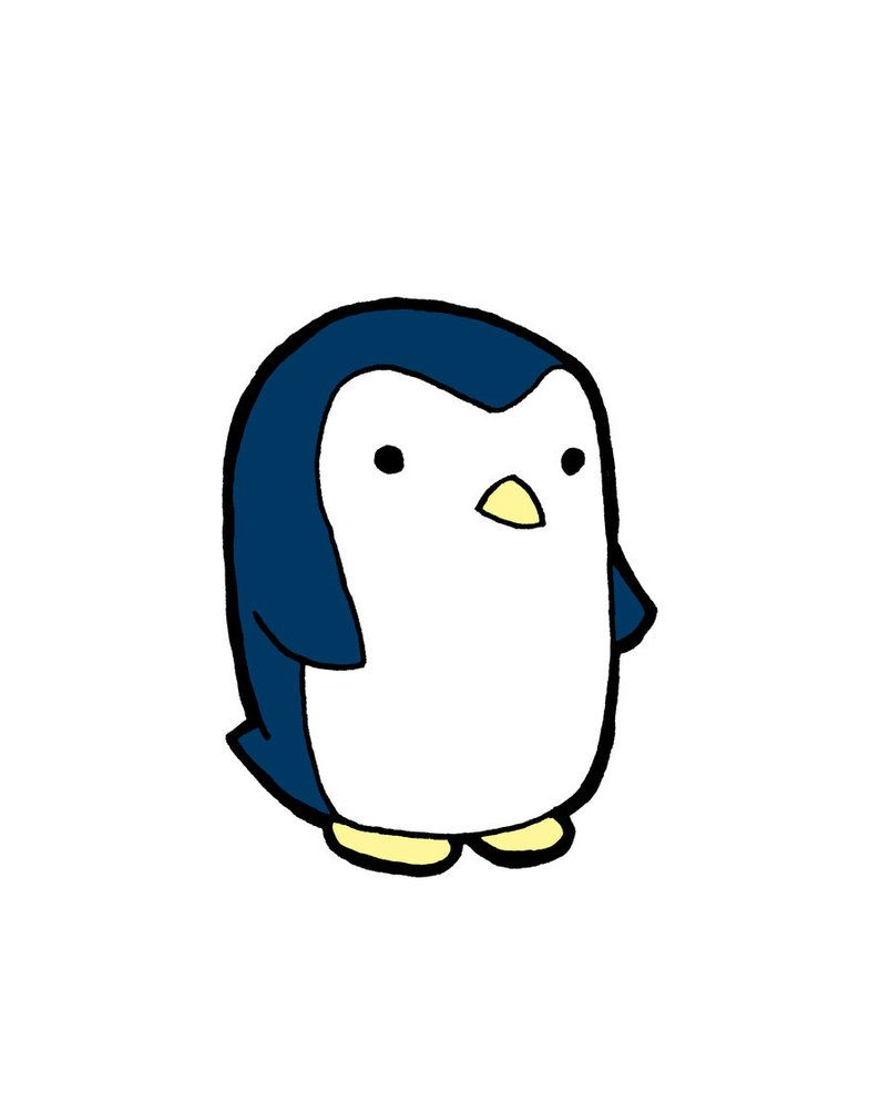 803x994 Cute Penguin Drawings Background Hd Wallpapers Penguins